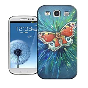 BIOIPHONECASE Butterfly Bright Design TPU Phone Cover For Samsung Galaxy S3
