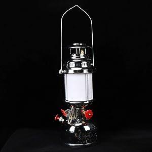 "LYNICESHOP Oil Lamp/Oil Lantern Original Oil Burning Lantern,16.54"" Copper Vintage Style Outdoor Lighting Lantern"