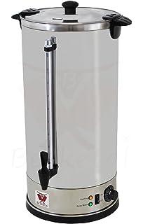 Elektro Wasserkocher Glühweinkocher Heißwasserkessel aus Edelstahl ...