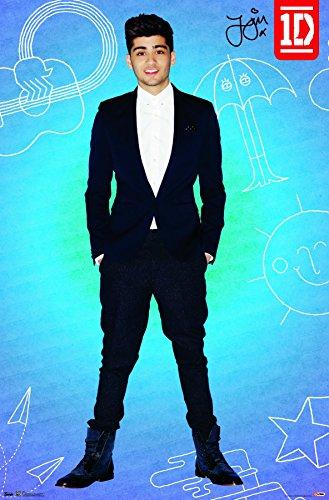 "Trends International 1D Zayn Pop Wall Poster 22.375"" x 34"""