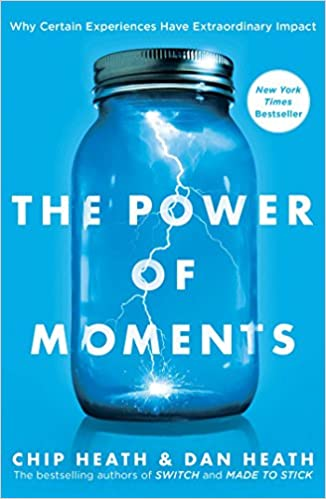 Book Cover -- The Power of Moments