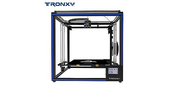 TRONXY X5SA-400 - Kit de bricolaje para impresora 3D, sensor de hilo de nivelación de coche, soporte de metal completo con pantalla táctil de 3,5 pulgadas, tamaño de impresión grande 400 x