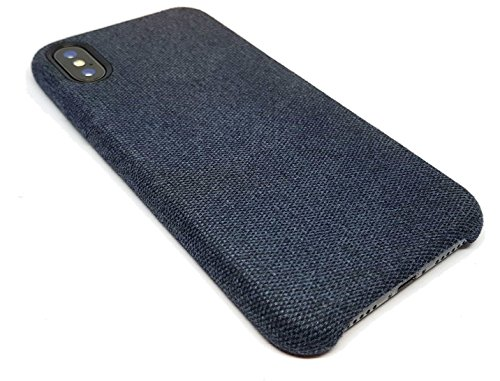 fonefunshop Design Flannel Rear Case Cover for iPhone X - Welsh Slate