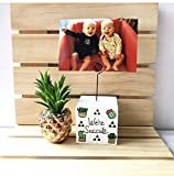 Sloth Photo Holder, Personalized Gift