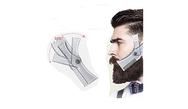 TXFUN Herramienta de moldeado de barba ajustable – Herramienta ...