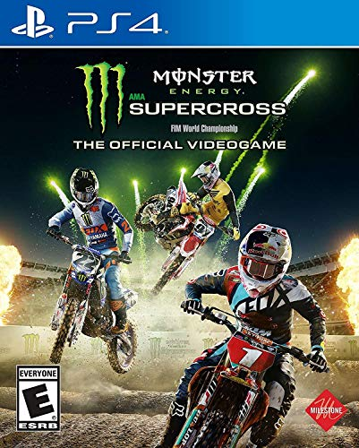 Monster Energy Supercross: The Official Videogame - PlayStation 4 (Best Atv On The Market Today)