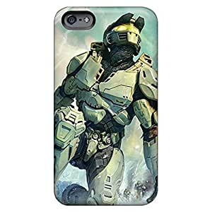 Design phone carrying case cover Protective Stylish Cases Durability iphone 6 4.7 case 6p - master chief