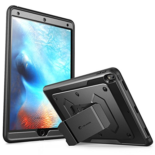 Dual Access Freestanding Cabinet (New iPad Pro 10.5 inch Case, [Heavy Duty] i-Blason New Apple iPad Pro 10.5 2017 release Armorbox Hybrid Full-body Protective Kickstand Case with Front Cover and Built-in Screen Protector (Black))