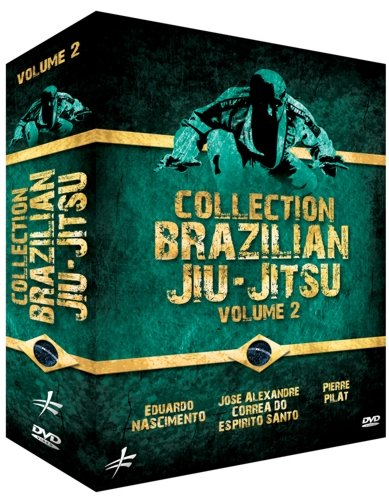 3 DVD Box Collection Brazilian Jiu-Jitsu Volume 2