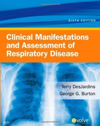Download Clinical Manifestations & Assessment of Respiratory Disease [Paperback] pdf