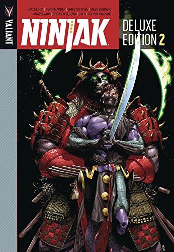 Ninjak Deluxe Edition Book 2