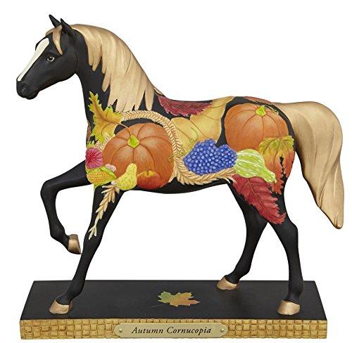 Trail of Painted Ponies Autumn Cornucopia Fall Harvest Horse Figurine 4041001