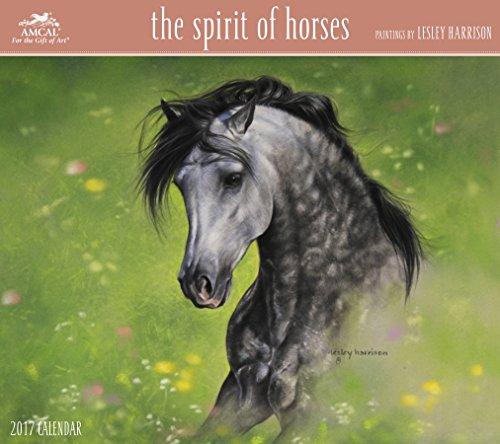 Lesley Harrison - The Spirit Of Horses Wall Calendar (2017)