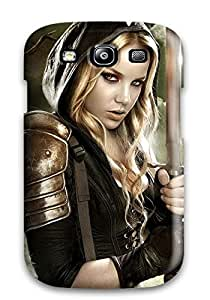 Protective Tpu Case With Fashion Design For Galaxy S3 (sucker Punch)