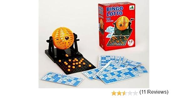 Desconocido Bingo con Bombo 21*15*9: Amazon.es: Juguetes y juegos