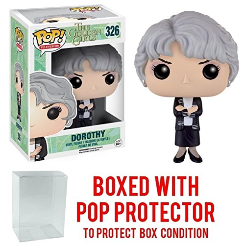 Funko Pop! TV: Golden Girls - Dorothy Vinyl Figure (Bundled with Pop BOX PROTECTOR CASE)