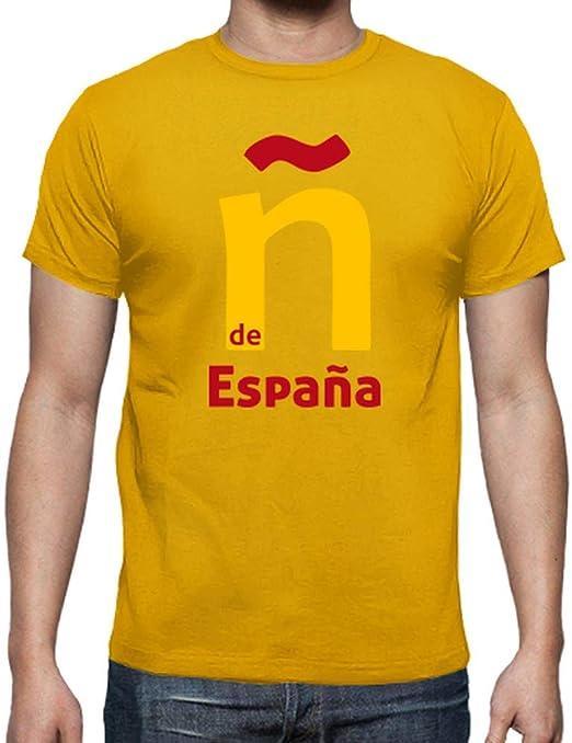 latostadora - Camiseta ñ de España para Hombre: jjgn: Amazon.es ...