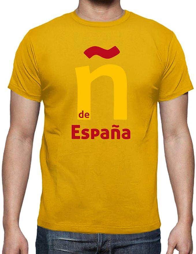 latostadora - Camiseta ñ de España para Hombre: jjgn: Amazon.es: Ropa y accesorios