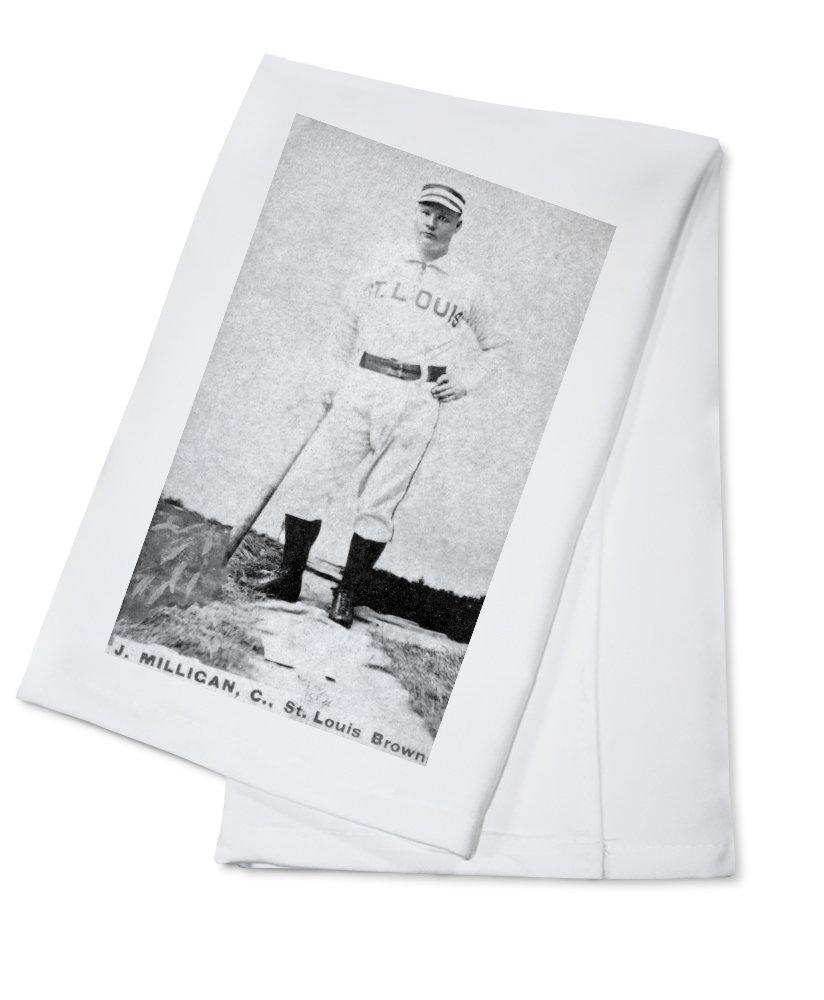 セントルイスBrowns – JMilligan – 野球カード Cotton Towel LANT-23067-TL Cotton Towel  B0184B94I0