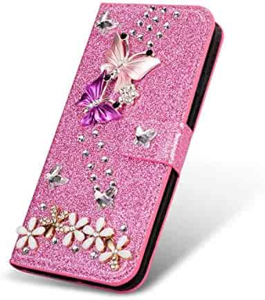 b553c9110002 Shopping selliphone - Faux Leather - Pink - iPhone 8 Plus - Cases ...