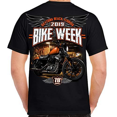 Biker Life Clothing 2019 Bike Week Daytona Beach Dark Side T-Shirt