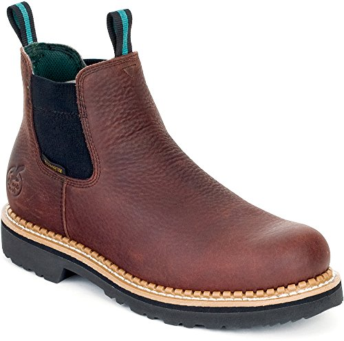 Georgia Boot Work Men Romeo Waterproof Goodyear 14 W Soggy Brown GR500 by Georgia Boot