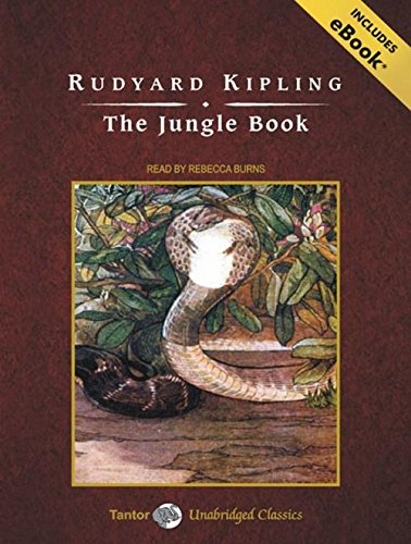 The Jungle Book, with eBook (Tantor Unabridged Classics)