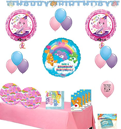 Care Bears Party Supplies and Room Decoration Bundle Care Bear Invitations