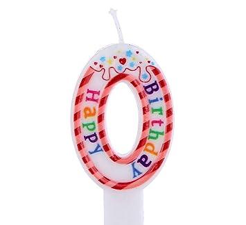 Kaalido Número Vela para Pastel de cumpleaños, Bodas y ...