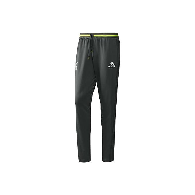 1793f7af1 adidas Germany Training Pants (Dark Grey/Green) at Amazon Men's ...