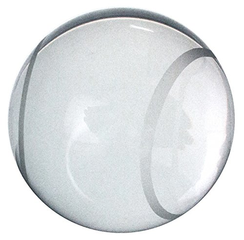 Amlong Crystal Tennis Ball Paperweight 3.5 with Gift Box