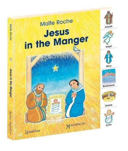 Jesus in the Manger (My First Words (Ignatius Press))