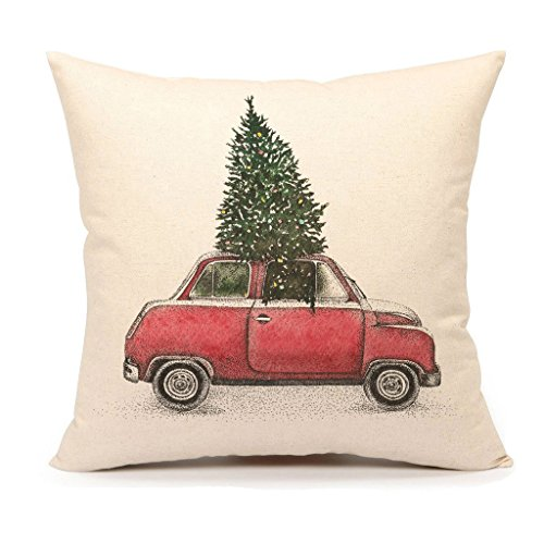 Christmas Pillow Decorative Cushion Vintage product image