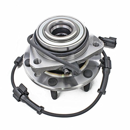 CRS NT513188 New Wheel Bearing Hub Assembly, Front Drivers (Left)/ Passenger (Right), for Chevy Trailblazer/ SSR, GMC ENVOY DENALI/ XL DENALI/ XUV, ISUZU ASCENDER, BUICK RAINIER, OLDSMOBILE BRAVADA