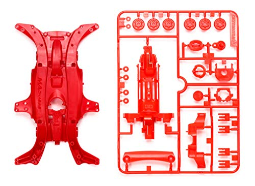 Tamiya 95384 Mini 4WD MA Reinforced Chassis Red