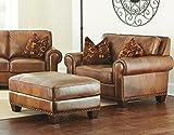Steve Silver Company Silverado Chair & Ottoman Set