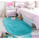 Ultra Soft Children Rugs Room Mat Modern Shaggy Area Rugs Home Decor