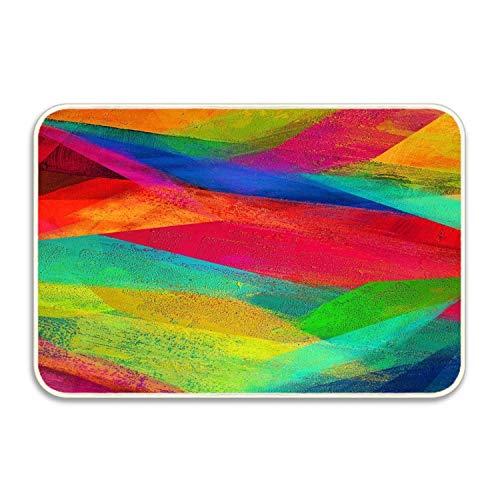 Custom Doormats Abstract Artistic Colorful Entryways Indoor/Outdoor Floor Mat Welcome Doormat