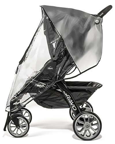 Weltru Premium Stroller Cover Weather Shield, Easy in/Out Zipper, Universal Size, Waterproof, Protects Against Wind, Rain, Snow, Insects by Weltru (Image #3)