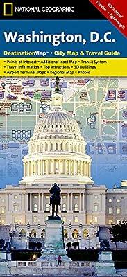 Washington D.C. (National Geographic Destination City Map)