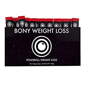 Bony Weight Loss: Ruby Lemonade Flavor 60 Count Sticks with Garcinia Cambogia, Green Coffee…