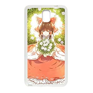 Cartoon Anime Beautiful Girl White Phone For Case Iphone 4/4S Cover