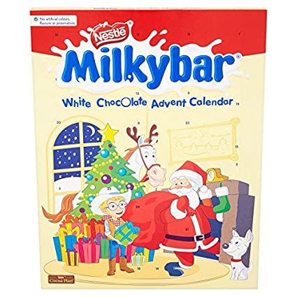 Milkybar Advent Calendar White Chocolate 85 G