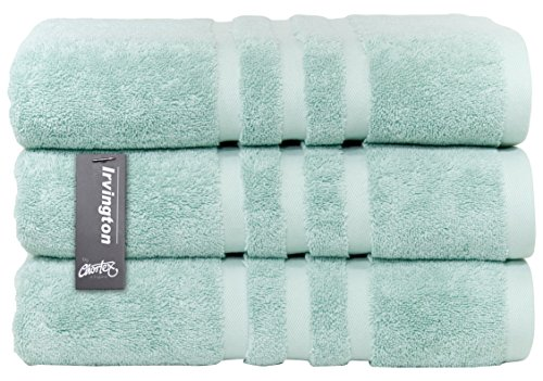 Chortex Luxury Turkish Cotton Bath Towel (3 Pack), Pack of 3, Mineral - Magnolia Bath Towel