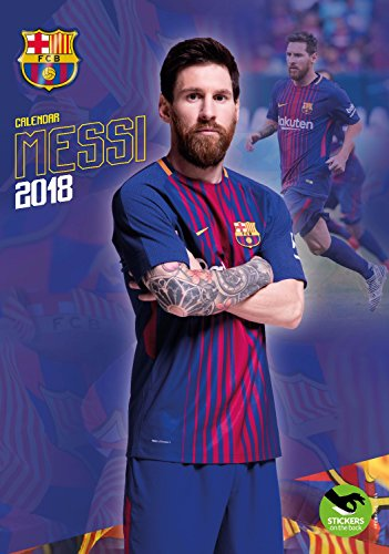 Lionel Messi Calendar - Calendars 2017 - 2018 Wall Calendars - MLS Soccer Calendar - Poster Calendar - 12 Month Calendar by Dream