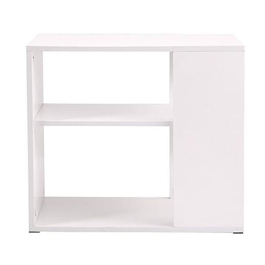 Mesa de escritorio blanca para sala de estar, decoración de ...