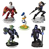 Disney Infinity 2.0 Edition - 5 Figures - Hawkeye, Ronan, Green Goblin, Falcon and Donald Duck