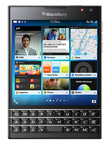 BlackBerry Passport SQW100-1 Factory Unlocked 32GB International Stock No Warranty - Black