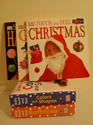Dk Board Book Collection: Touch and Feel Christmas; Scratch and Sniff Garden; Scratch and Sniff Halloween; Touch and Feel Shapes and Colors; Touch and Feel Bathtime (Board Book Sets for -