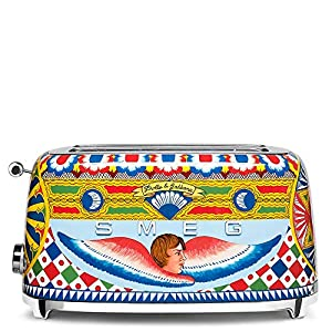 "Dolce and Gabbana x Smeg TSF02DGUS 4 Slice Toaster,""Sicily Is My Love,"" Collection 12"
